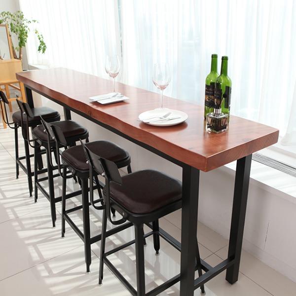 통원목 우드슬랩 테이블
